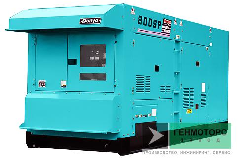 Дизельный генератор (электростанция) DENYO DCA-800SPK