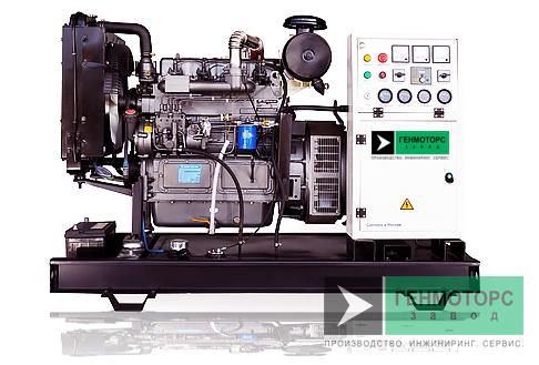 Дизельный генератор (электростанция) АД-40С-Т400