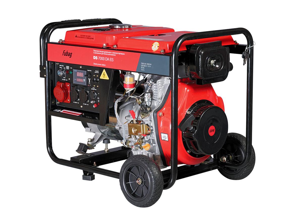 Дизельный генератор (электростанция) FUBAG DS 7000 DA ES