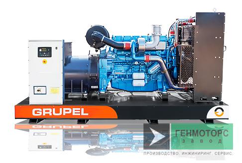 Дизельный генератор (электростанция) G138BDGR Grupel