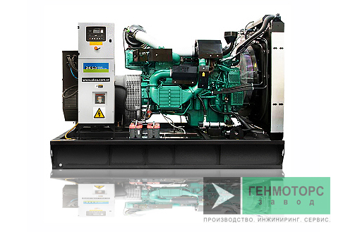 Дизельный генератор (электростанция) AKSA AVP655