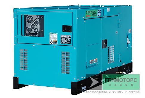 Дизельный генератор (электростанция) DENYO DCA-35SPK