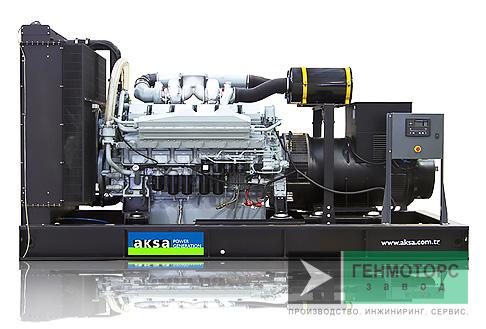 Дизельный генератор (электростанция) AKSA APD825M