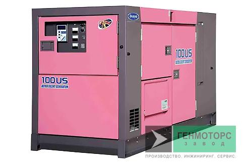 Дизельный генератор (электростанция) DENYO DCA-100USI