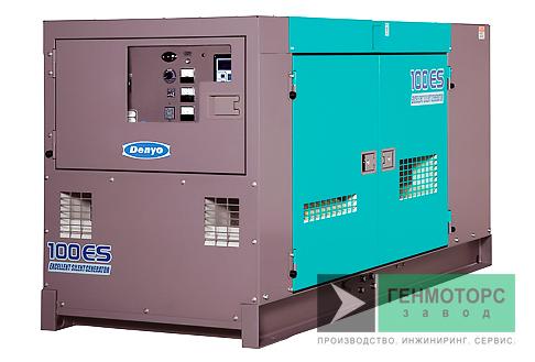 Дизельный генератор (электростанция) DENYO DCA-100ESI