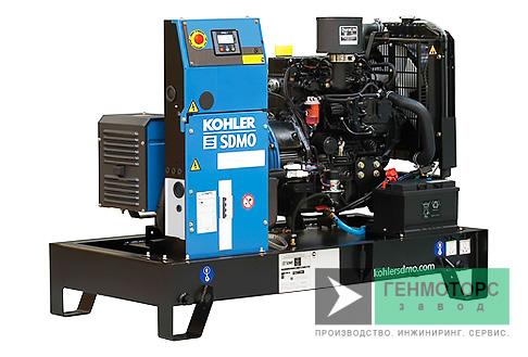 Дизельный генератор (электростанция) SDMO T12K