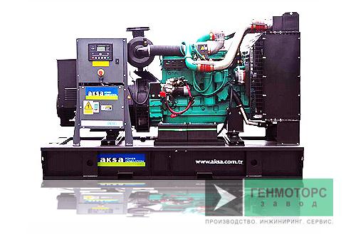 Дизельный генератор (электростанция) AKSA APD275C