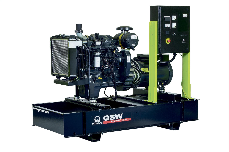 Дизельный генератор (электростанция) Pramac GSW80P
