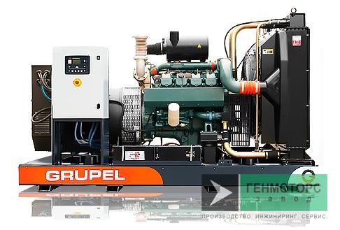 Дизельный генератор (электростанция) G165DSGR Grupel