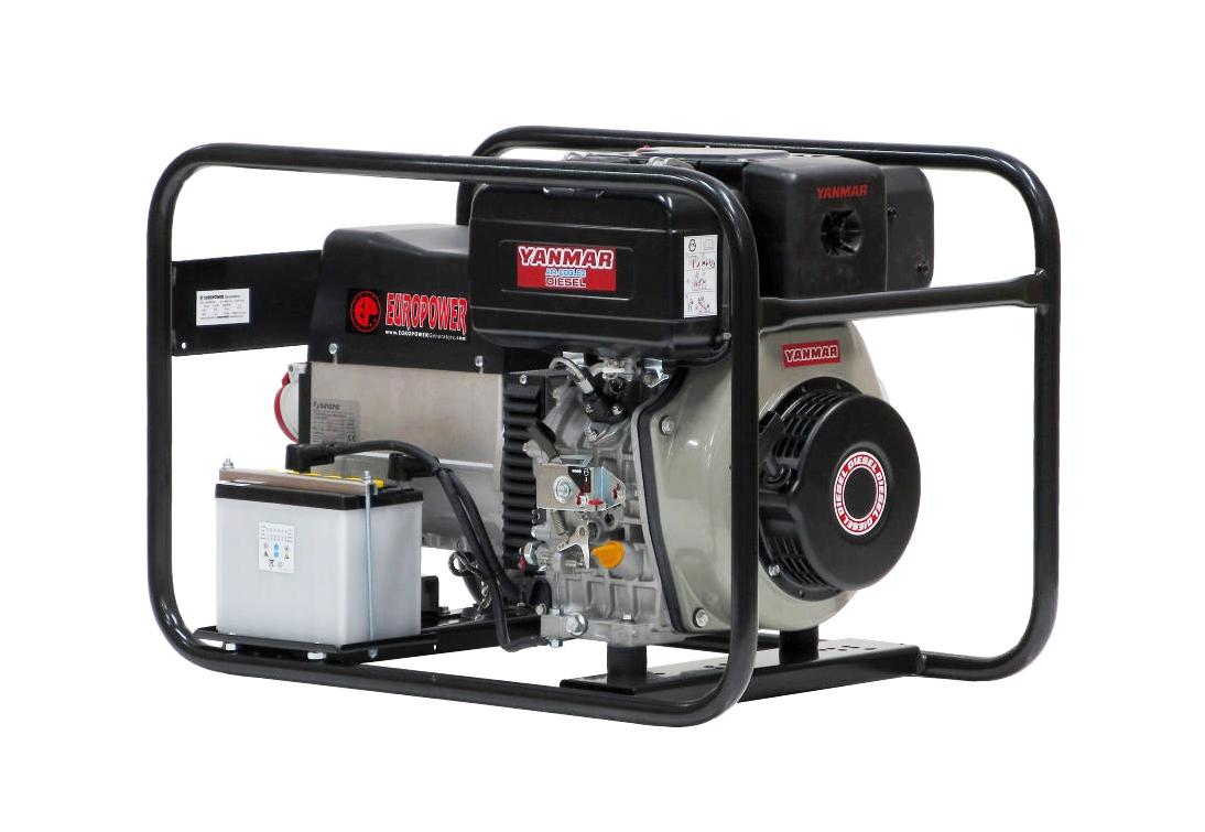 Дизельный генератор (электростанция) Europower EP 6000 TDE