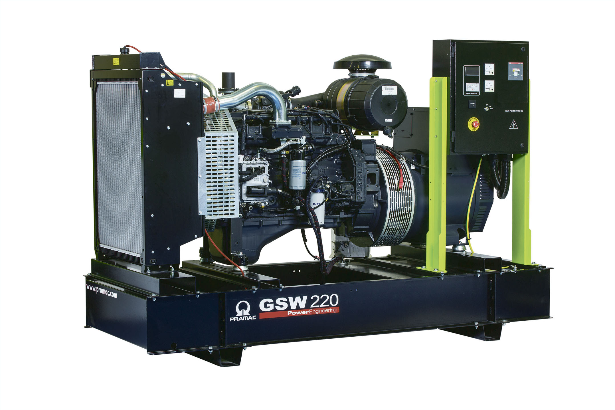 Дизельный генератор (электростанция) Pramac GSW220I