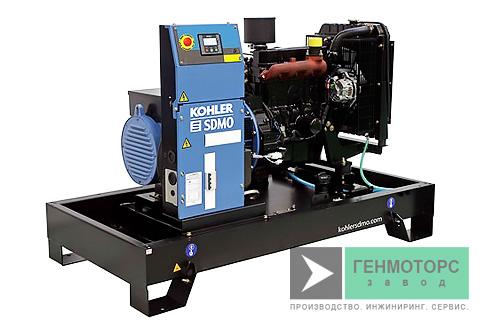 Дизельный генератор (электростанция) SDMO T17KM