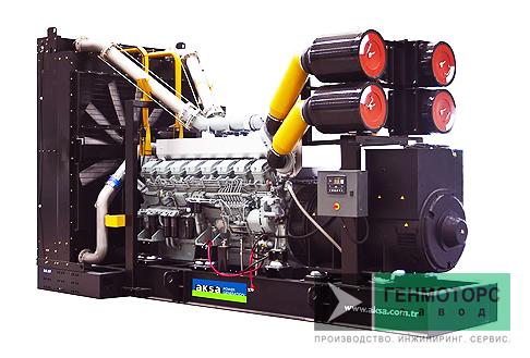 Дизельный генератор (электростанция) AKSA APD2100M