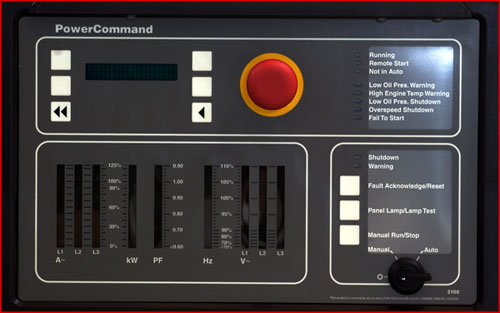 Power Command Control 2100